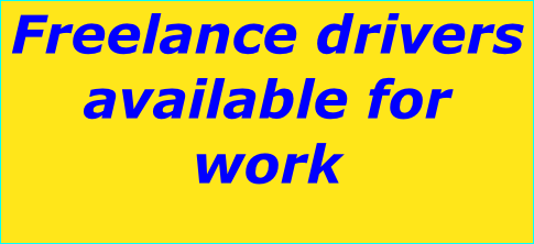 Freelance drivers available for work